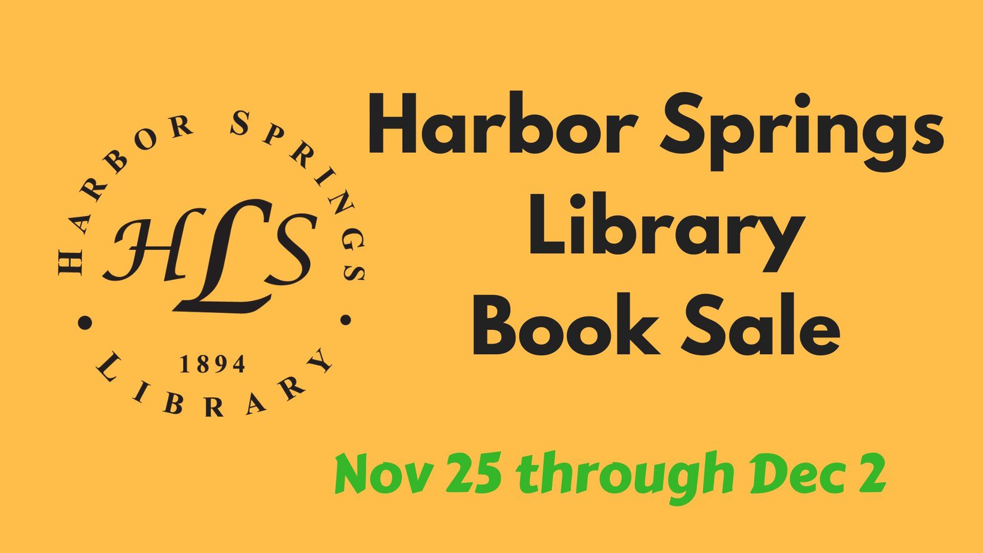 Harbor Springs LibraryBook Sale